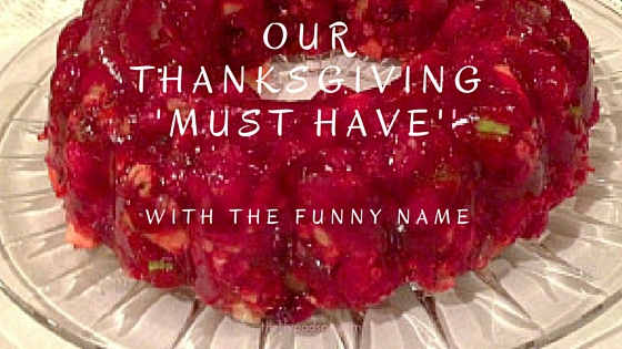 Our Thanksgiving 'Must Have'