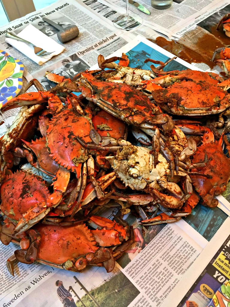 Best Summertime Dinner: Crabs