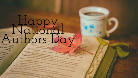 Happy National Authors Day